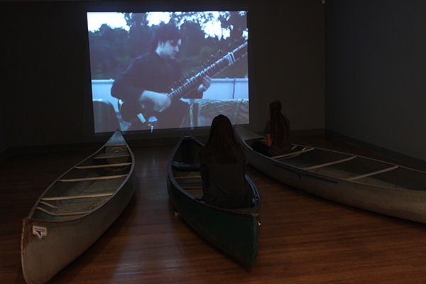 Flooded Lecture Series Viewing Installation University of Mary Washington Gallery