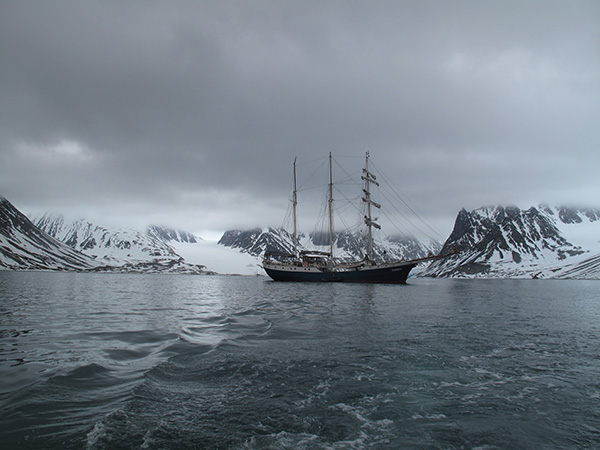 In 2013, Mia participated in an Arts and Science expedition to the Arctic Circle aboard The Antigua- a Barquentine Tall Ship.